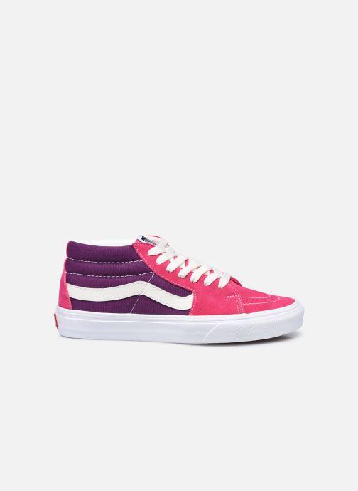 Sneaker Vans UA SK8-Mid (RETRO SPORT)CA rosa ansicht von hinten
