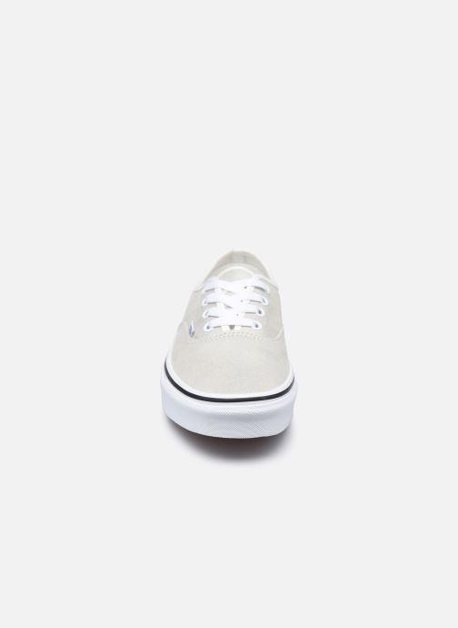 Sneaker Vans UA Authentic (PRISM SUEDE)MT weiß schuhe getragen