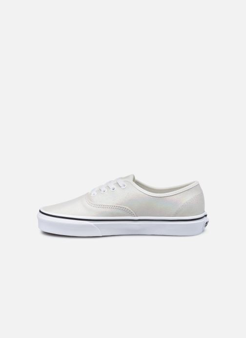 Sneakers Vans UA Authentic (PRISM SUEDE)MT Bianco immagine frontale