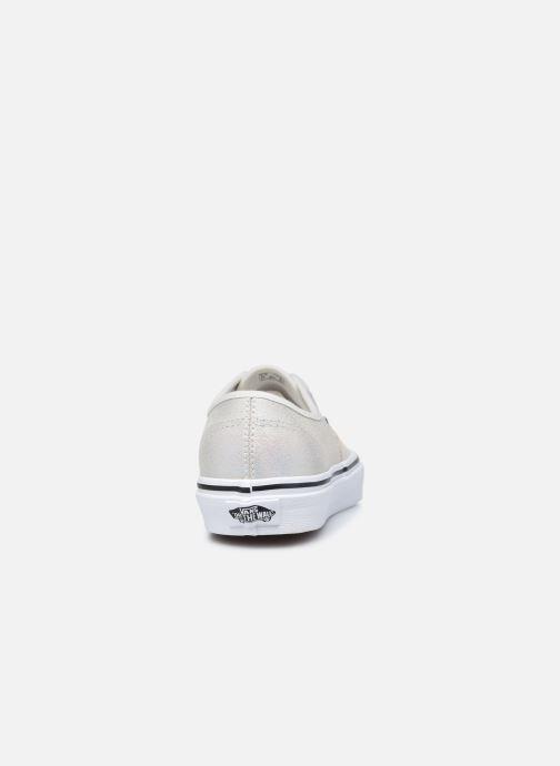 Sneaker Vans UA Authentic (PRISM SUEDE)MT weiß ansicht von rechts