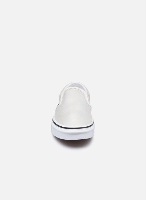 Sneaker Vans UA Classic Slip-On (PRISM SUEDE)MT silber schuhe getragen