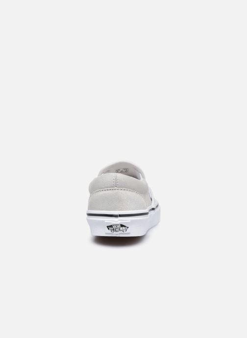 Sneaker Vans UA Classic Slip-On (PRISM SUEDE)MT silber ansicht von rechts