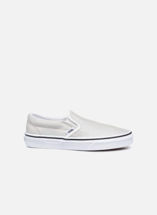 Sneaker Vans UA Classic Slip-On (PRISM SUEDE)MT silber ansicht von hinten