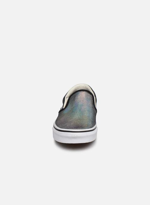 Sneaker Vans UA Classic Slip-On (PRISM SUEDE) B silber schuhe getragen
