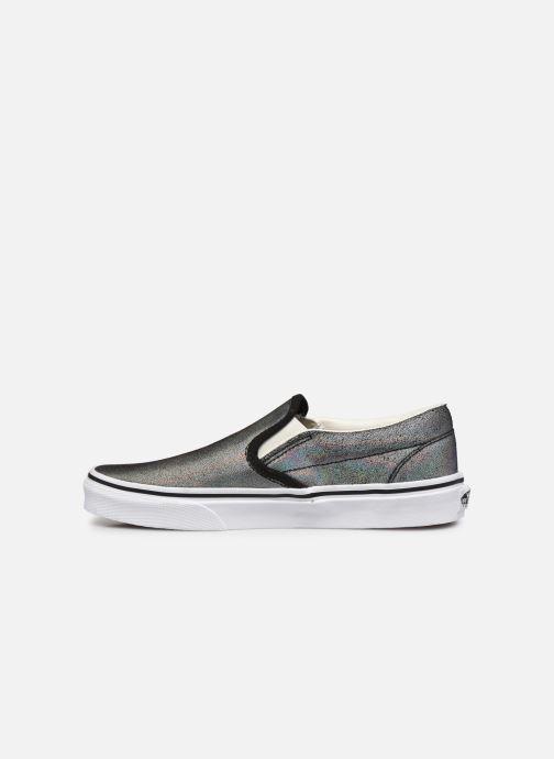 Sneaker Vans UA Classic Slip-On (PRISM SUEDE) B silber ansicht von vorne