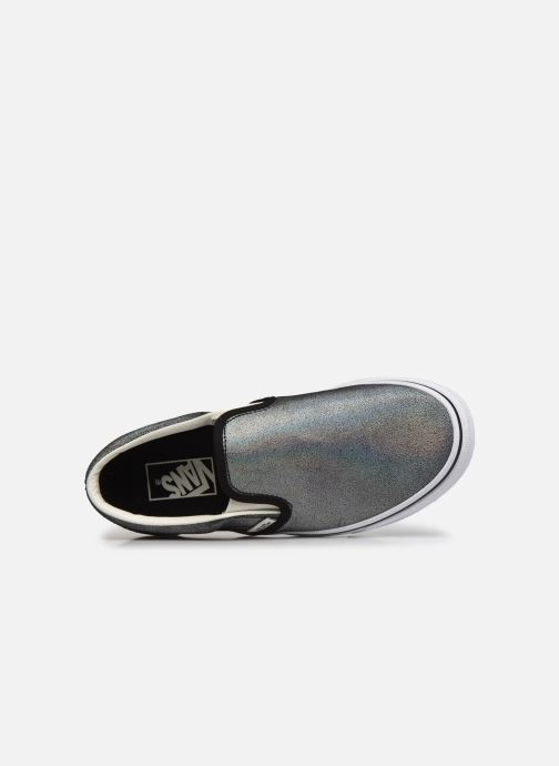 Sneaker Vans UA Classic Slip-On (PRISM SUEDE) B silber ansicht von links