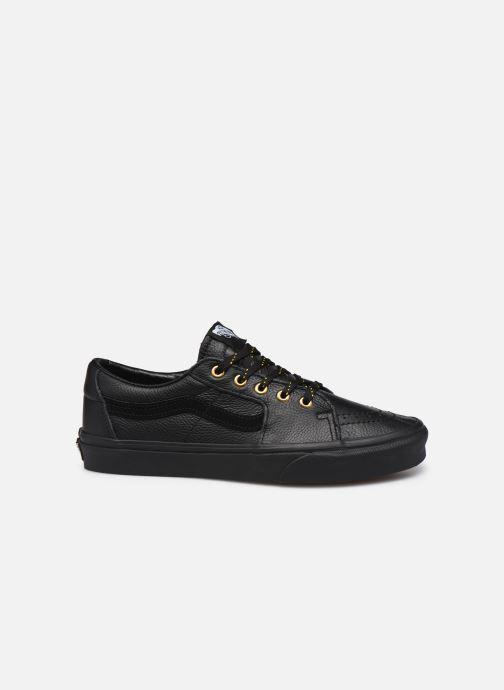Sneaker Vans UA SK8-Low (Leather) Black schwarz ansicht von hinten