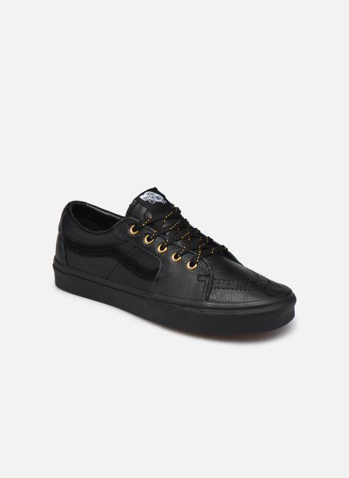 Sneaker Vans UA SK8-Low (Leather) Black schwarz detaillierte ansicht/modell
