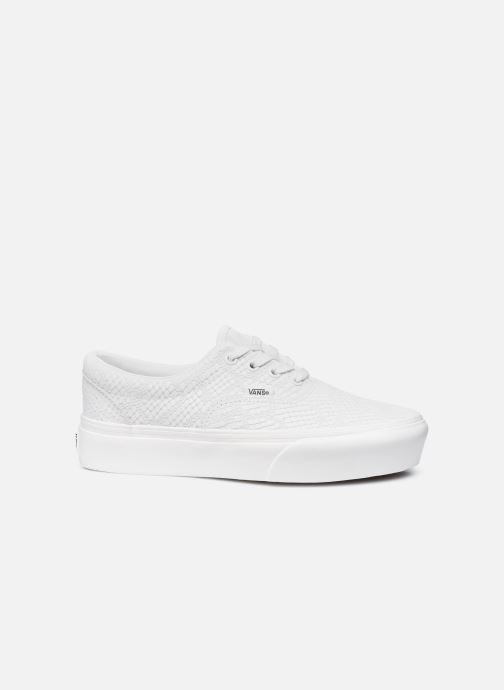 Sneaker Vans UA Era Platform (ANIMAL) EMBOSS weiß ansicht von hinten