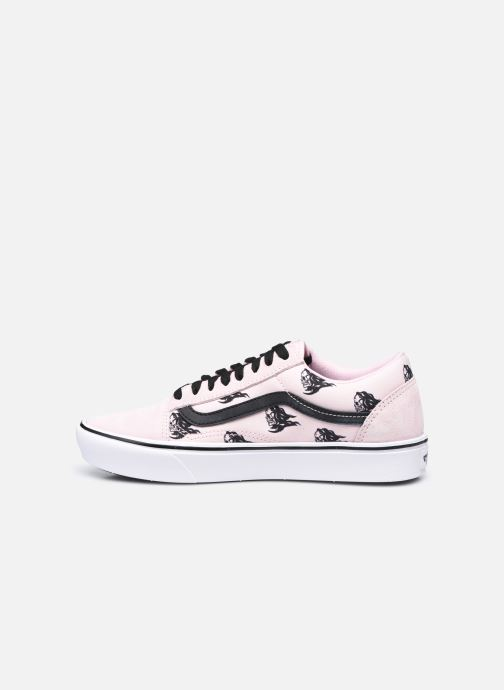 Baskets Vans UA ComfyCush Old S (SIXTY SIXERS)B Rose vue face