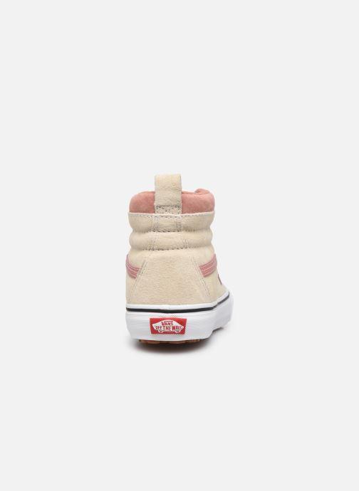Sneaker Vans UA SK8-Hi MTE (MTE) SUEDE/ANT weiß ansicht von rechts