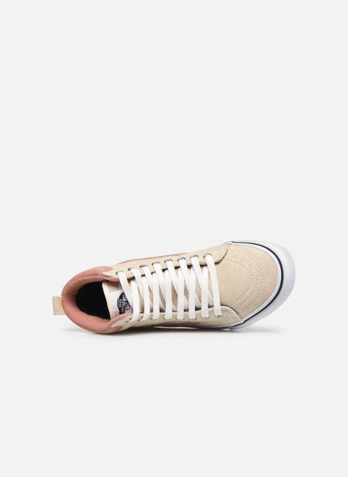 Sneaker Vans UA SK8-Hi MTE (MTE) SUEDE/ANT weiß ansicht von links