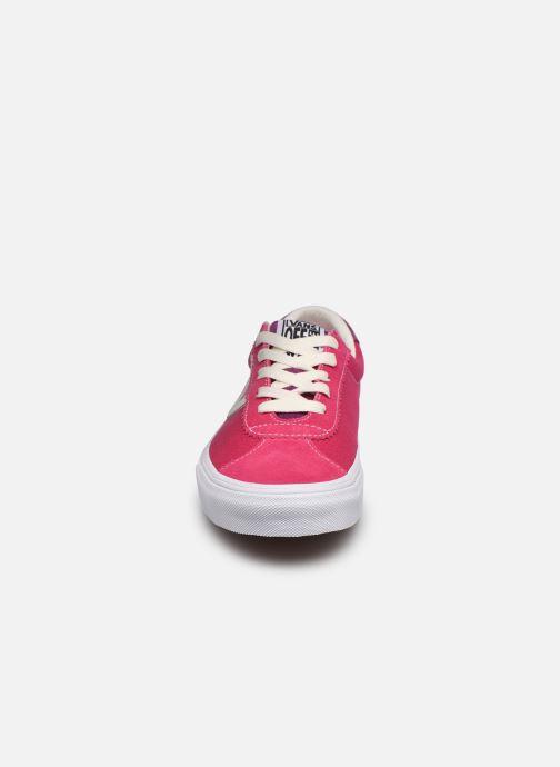 Sneaker Vans UA Vans Sport (RETRO SPORT)CA rosa schuhe getragen