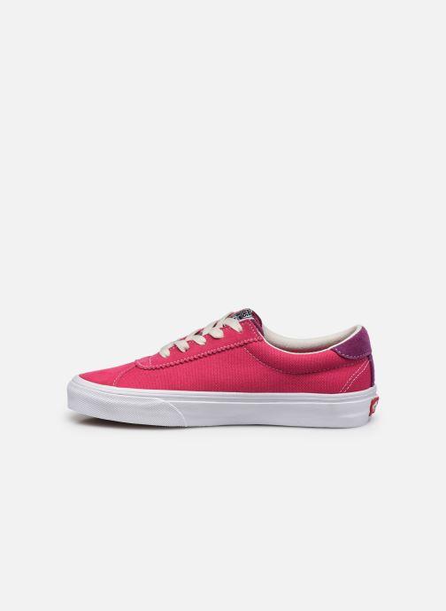Sneaker Vans UA Vans Sport (RETRO SPORT)CA rosa ansicht von vorne