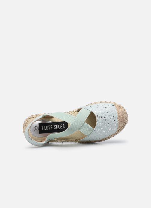 Espadrilles I Love Shoes THEMIE blau ansicht von links