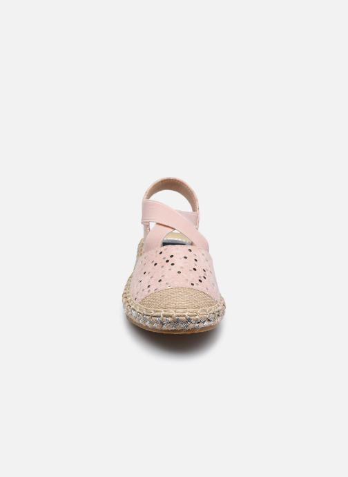 Scarpe di corda I Love Shoes THEMIE Rosa modello indossato