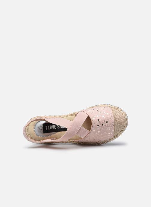 Scarpe di corda I Love Shoes THEMIE Rosa immagine sinistra