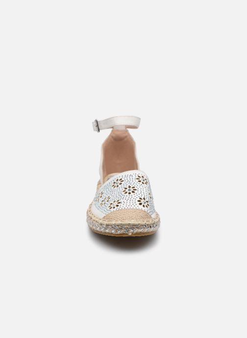 Scarpe di corda I Love Shoes THERRE Bianco modello indossato