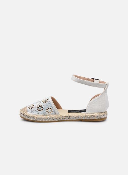 Scarpe di corda I Love Shoes THERRE Bianco immagine frontale