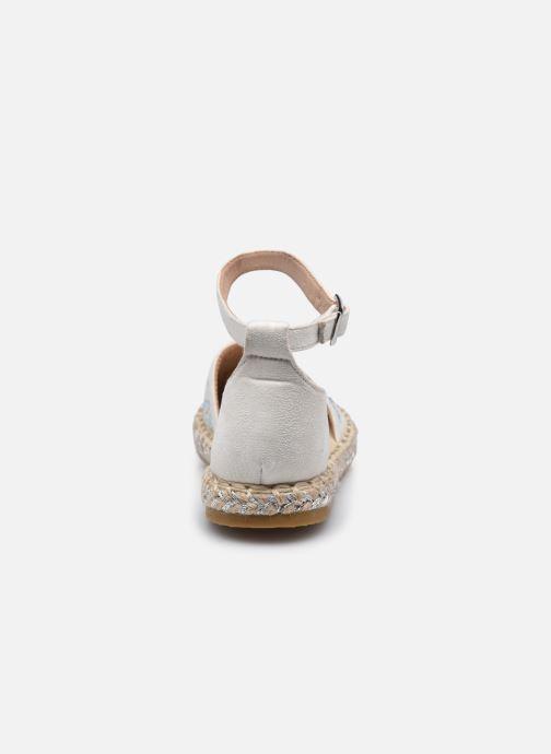 Scarpe di corda I Love Shoes THERRE Bianco immagine destra