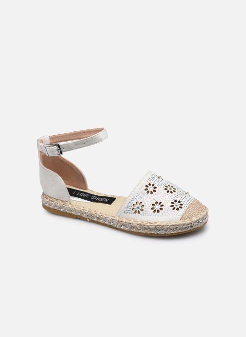 Espadrilles I Love Shoes THERRE Blanc vue détail/paire