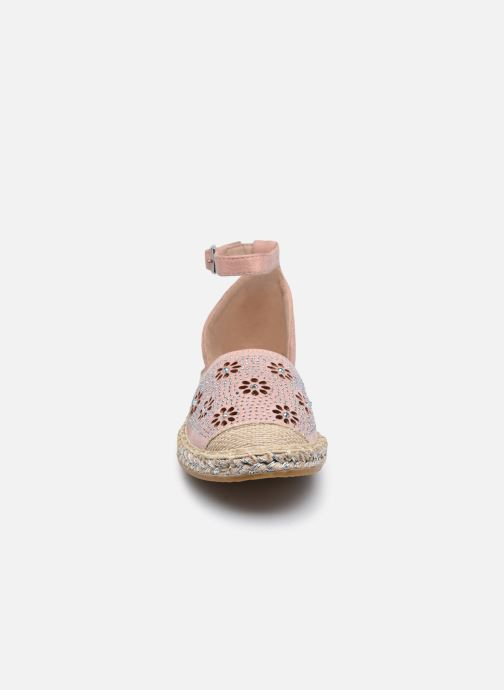Scarpe di corda I Love Shoes THERRE Rosa modello indossato