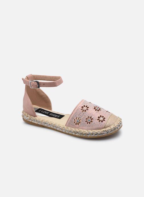 Espadrilles I Love Shoes THERRE rosa detaillierte ansicht/modell