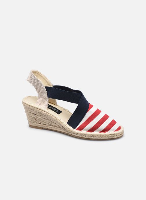 Espadrilles I Love Shoes THITNESS Rood detail