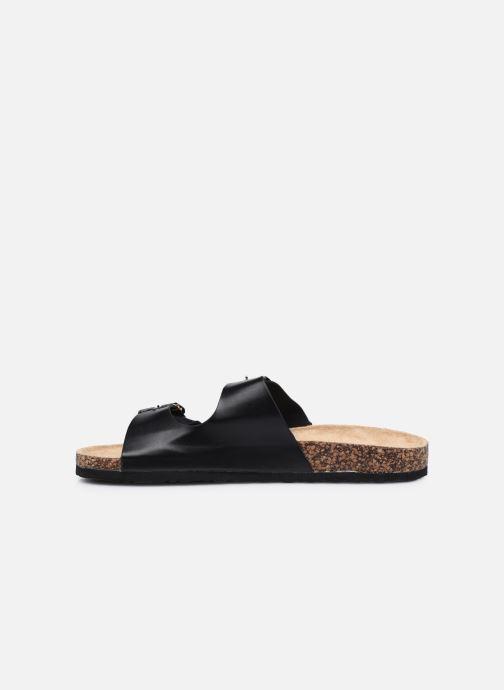 Sandales et nu-pieds I Love Shoes THIC M Noir vue face