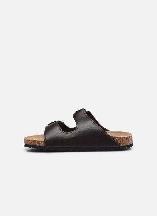 Sandales et nu-pieds I Love Shoes THIC M Marron vue face