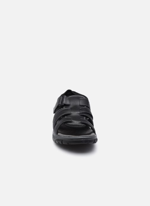 Sandalen I Love Shoes THEDISSI LEATHER schwarz schuhe getragen