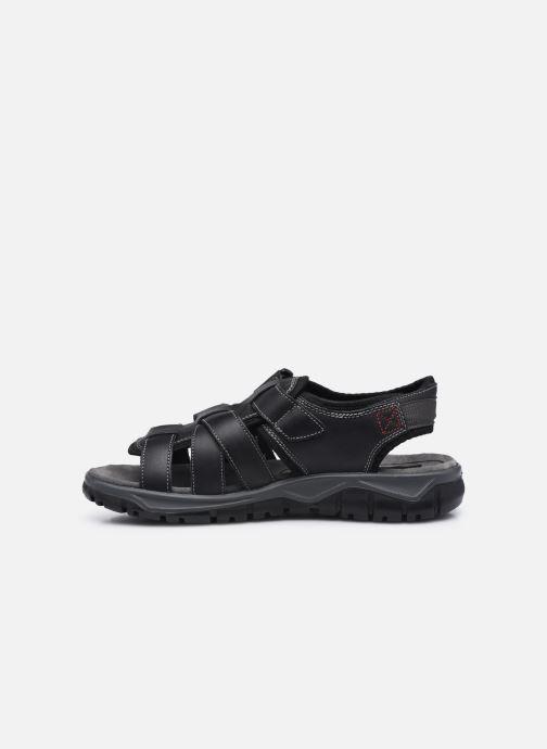 Sandali e scarpe aperte I Love Shoes THEDISSI LEATHER Nero immagine frontale