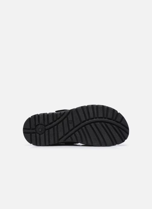 Sandalen I Love Shoes THEDISSI LEATHER schwarz ansicht von oben