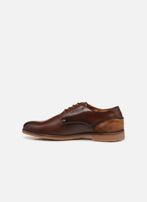 Zapatos con cordones Redskins Grisel Marrón vista de frente