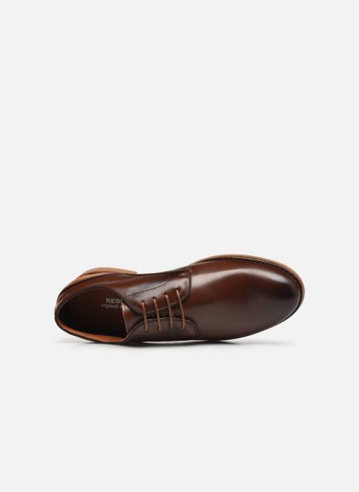 Zapatos con cordones Redskins Grisel Marrón vista lateral izquierda