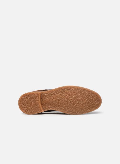 Zapatos con cordones Redskins Grisel Marrón vista de arriba