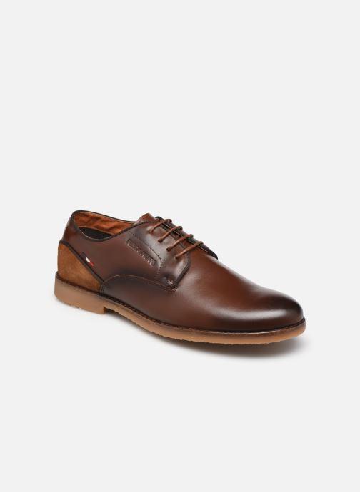 Zapatos con cordones Redskins Grisel Marrón vista de detalle / par