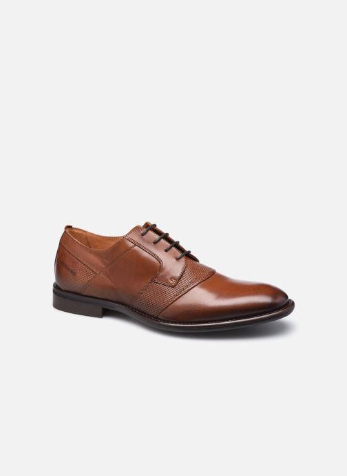 Zapatos con cordones Redskins Hegoni Marrón vista de detalle / par