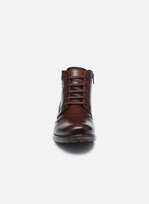 Bottines et boots Redskins Noyer Marron vue portées chaussures