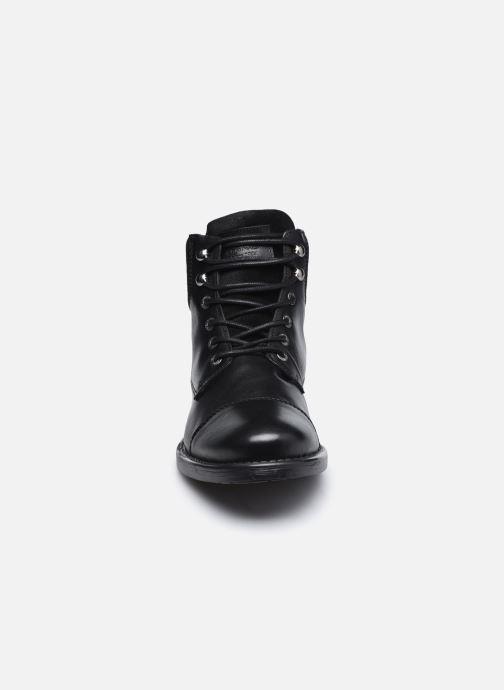 Bottines et boots Redskins Pricin Noir vue portées chaussures