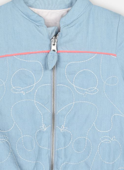Vêtements Billieblush U16243 Bleu vue droite