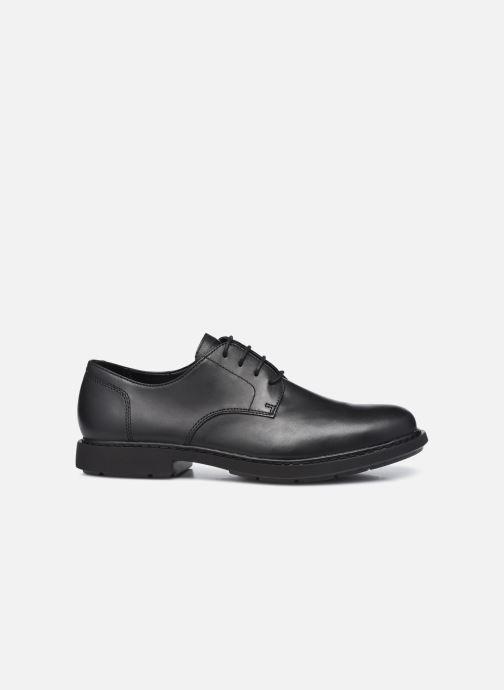 Zapatos con cordones Camper Neuman Negro vistra trasera