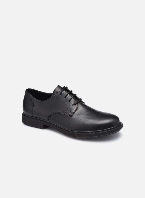 Zapatos con cordones Camper Neuman Negro vista de detalle / par