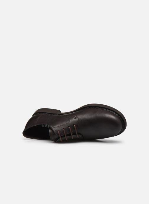 Scarpe con lacci Camper Neuman Marrone immagine sinistra