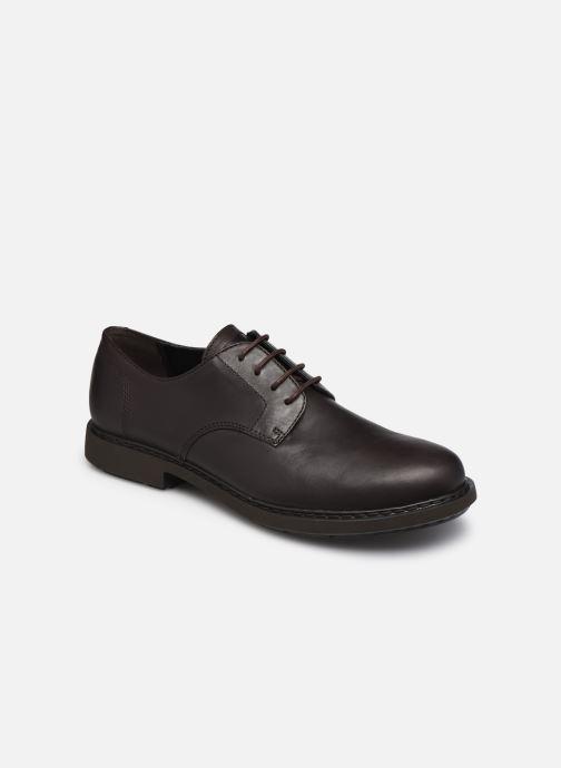 Snøresko Camper Neuman Brun detaljeret billede af skoene