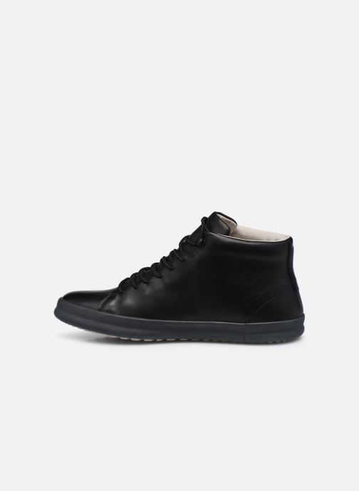 Sneakers Camper Chasis sport High Nero immagine frontale
