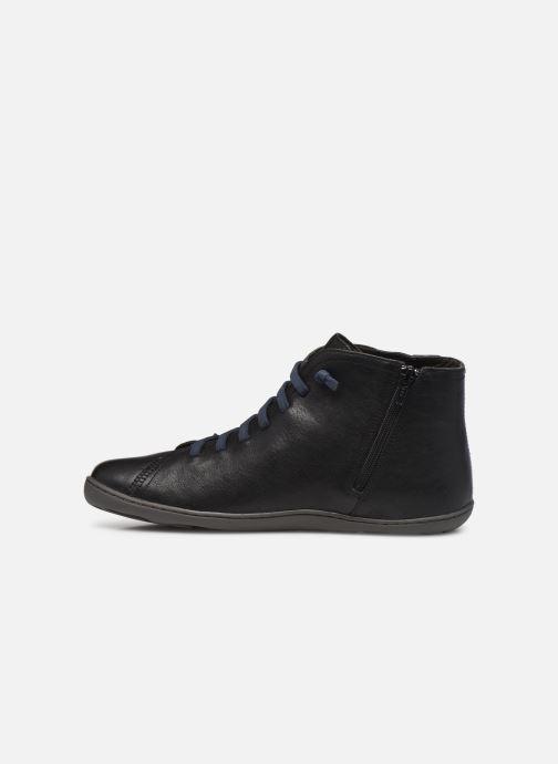 Sneaker Camper Peu Cami High schwarz ansicht von vorne
