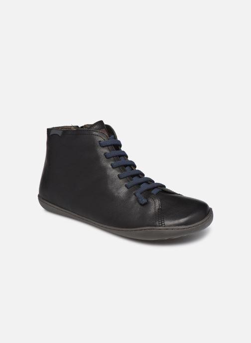 Sneakers Camper Peu Cami High Sort detaljeret billede af skoene