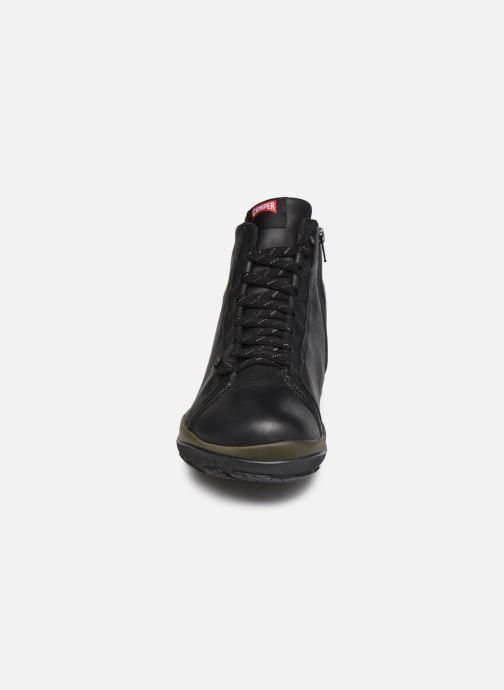 Sneaker Camper Peu Pista GM schwarz schuhe getragen