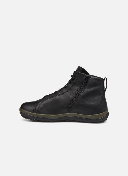 Sneaker Camper Peu Pista GM schwarz ansicht von vorne